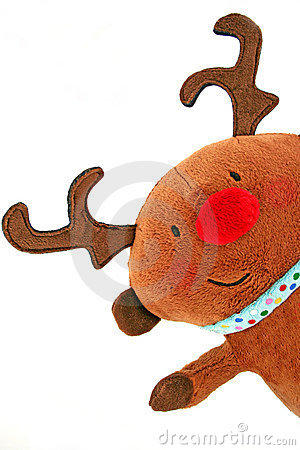 Free Christmas Reindeer Royalty Free Stock Photography - 3920787