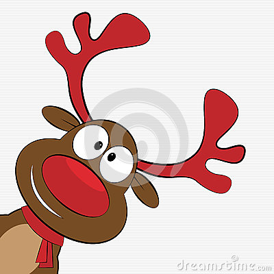 Free Christmas Reindeer Royalty Free Stock Photography - 46352667