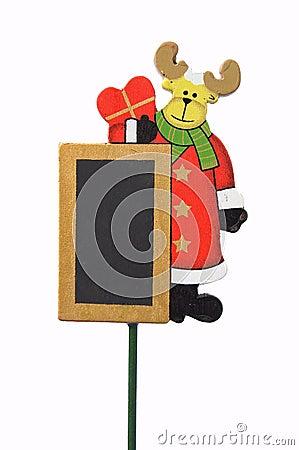 Christmas reindeer board