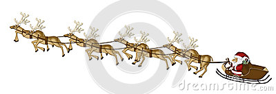 Christmas Reindeers Mulberry Paper