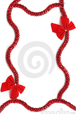Free Christmas Ribbon Stock Photos - 6640953