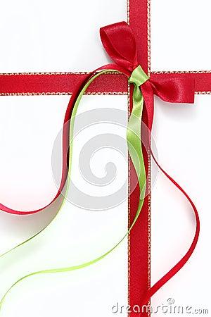 Free Christmas Ribbons Stock Photography - 27114502