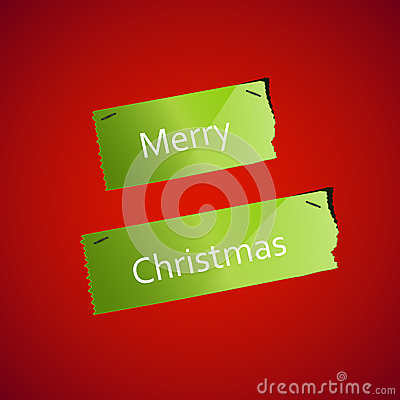 Christmas Ripped paper background