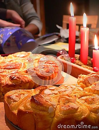 Christmas Saffron Cake