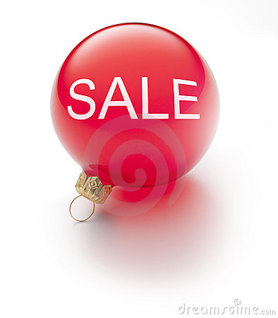 Free Christmas Sale Ornament Stock Photography - 17046772