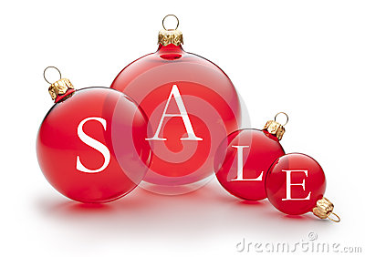 Christmas Holiday Sale Ornament