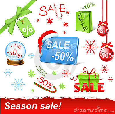 Christmas sale set