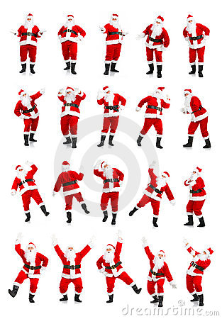 Free Christmas Santa Royalty Free Stock Images - 7054189