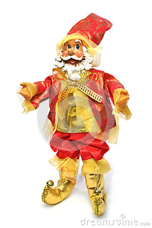 Christmas Santa Claus Doll - Standing Up.