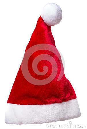 Christmas Santa Claus Elf Hat Isolated