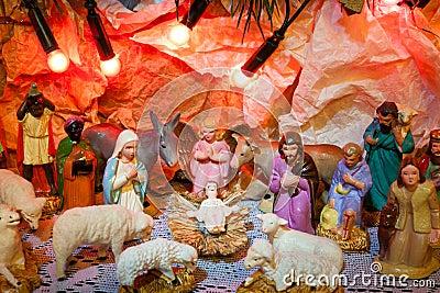 Christmas Decoration Jesus Born | Holliday Decorations