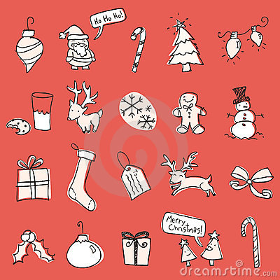 Free Christmas Scribbles Stock Photos - 11789883