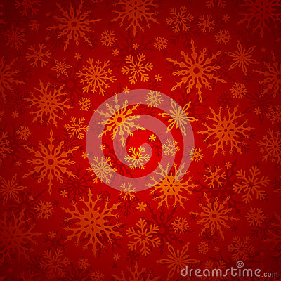 Free Christmas Seamless Background With Snowflakes. Vector Illustration. Stock Photography - 47137082