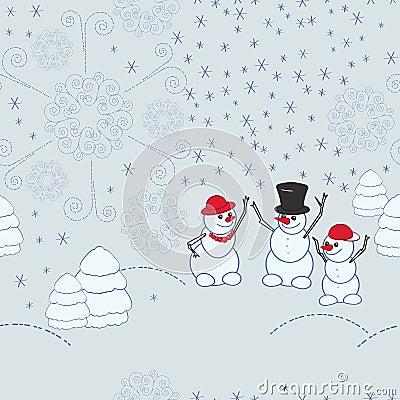Christmas seamless patter