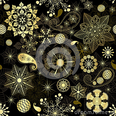 Free Christmas Seamless Pattern Stock Images - 27723144