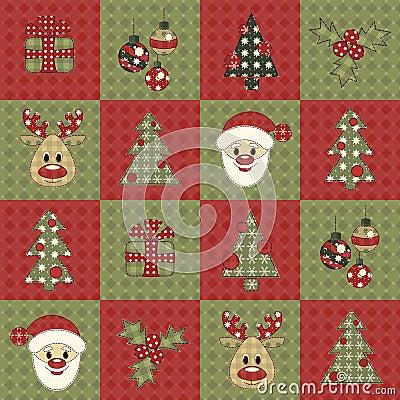 Christmas seamless pattern 7