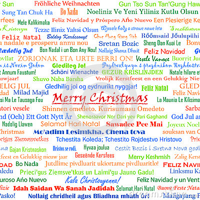Christmas greetings other languages merry cu christmas seamless royalty free stock photography image m4hsunfo