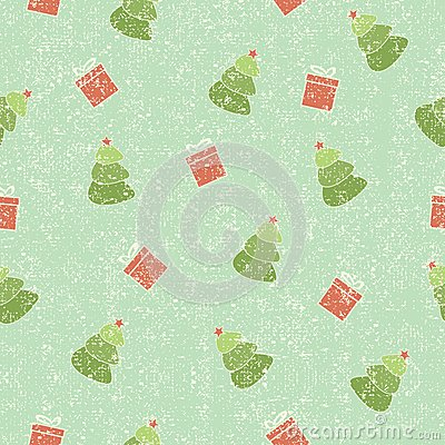 Christmas seamless shabby background