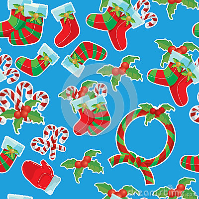 Christmas  seamless texture pattern