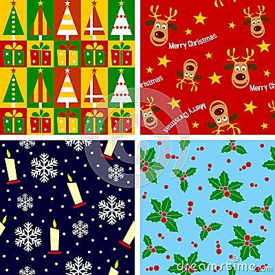 Free Christmas Seamless Tiles [1] Stock Photography - 11495422