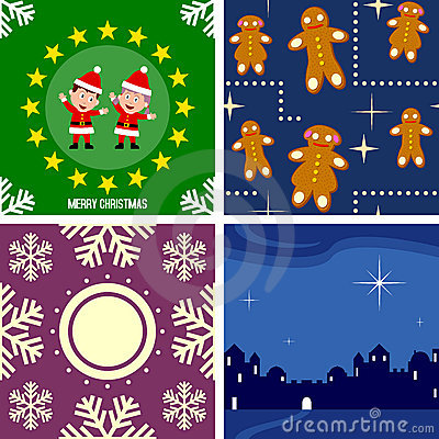 Christmas Seamless Tiles [4]