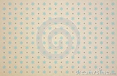 Christmas seasonal winter snowflake pattern for yo