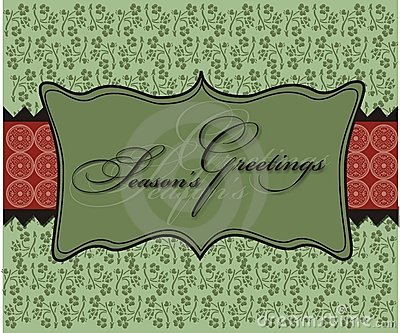 Christmas Seasons Greetings Background Wallpaper