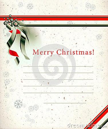 Christmas seasons postcard