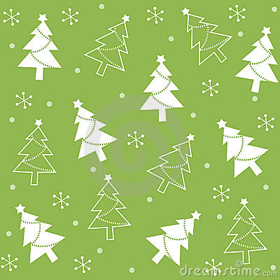Free Christmas Semless Pattern Royalty Free Stock Image - 21102726