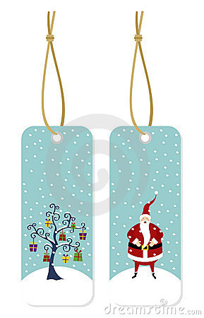 Christmas Series: Hang Tags Royalty Free Stock Image - Image: 11727556