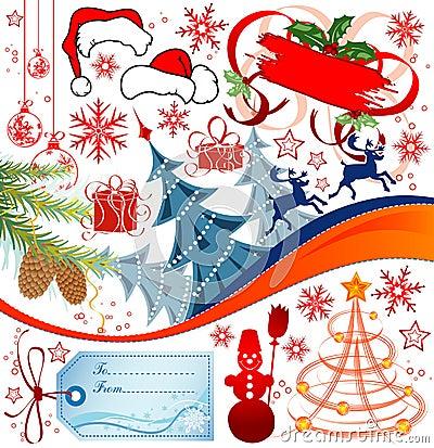 Free Christmas Set Stock Photo - 3618900