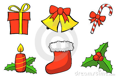 Christmas set. Vector