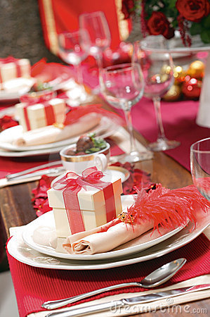 Christmas setting Table series #1