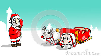 Christmas-Sheep-Sled