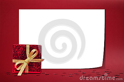 Christmas sheet of paper