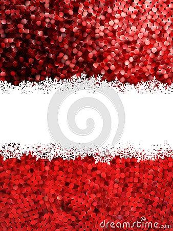 Christmas Shine mosaic background. EPS 8