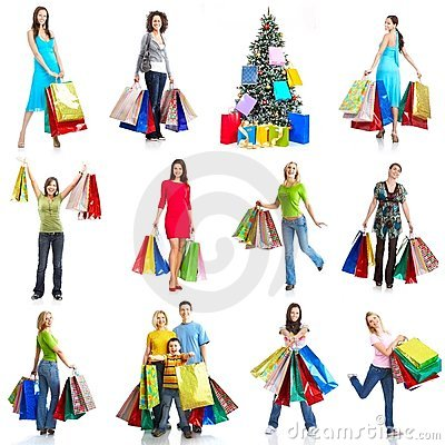 Christmas Shopping Royalty Free Stock Photography - Image: 11766377
