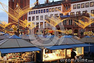 Christmas Shopping Editorial Stock Image