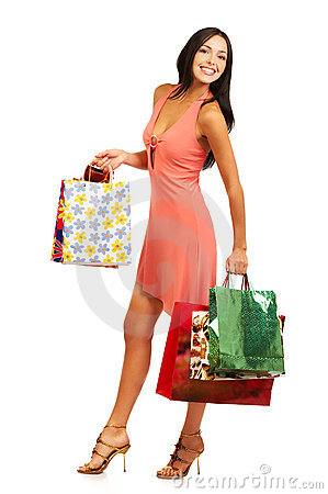Free Christmas Shopping Royalty Free Stock Photography - 1278997