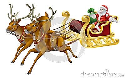 Christmas sled