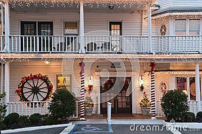 Christmas small hotel