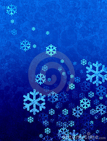 Christmas snow falling background