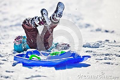 Christmas Snow Fun Editorial Photo