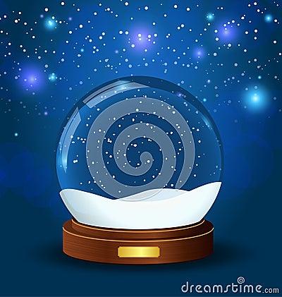 Free Christmas Snow Globe Stock Photos - 16778583