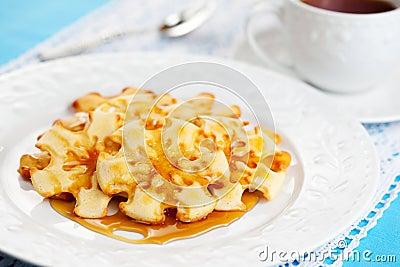 Christmas Snowflake Pancakes