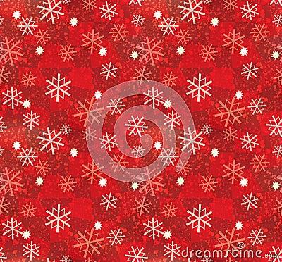 Free Christmas Snowflake Pattern Seamless Royalty Free Stock Image - 2862356