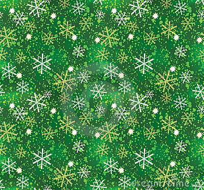 Free Christmas Snowflake Pattern Seamless Stock Photos - 3195153
