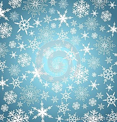 Free Christmas Snowflakes Background Card Menu Web Royalty Free Stock Photos - 35621778