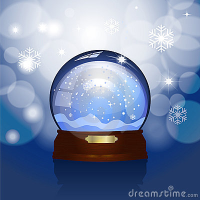 Christmas Snowglobe Royalty Free Stock Photography - Image: 22189227