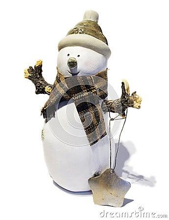 Free Christmas Snowman Stock Photo - 102560